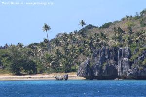 Sawa-I-Lau, Yasawa, Fiji. Autor e Copyright Marco Ramerini