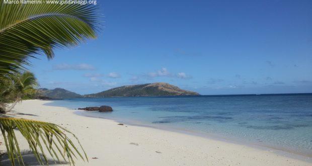 Blue Lagoon Beach, Nacula, Ilhas Yasawa, Fiji. Autor e Copyright Marco Ramerini
