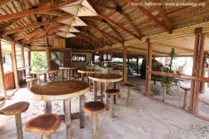 O restaurante, Kuata, Ilhas Yasawa, Fiji. Autor e Copyright Marco Ramerini