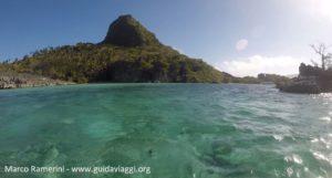 Lagoa azul, Sawa-I-Lau, Yasawa, Fiji. Autor e Copyright Marco Ramerini