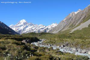Mount Cook, Nova Zelândia. Autor e Copyright Marco Ramerini