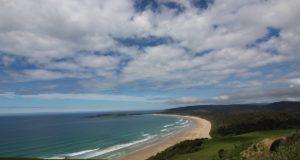 Tautuku Beach, Catlins, Nova Zelândia. Autor e Copyright Marco Ramerini