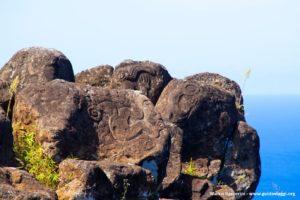 Orongo, Ilha de Páscoa, Chile. Autor e Copyright Marco Ramerini