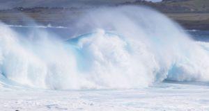 Oceano Pacífico, Ilha de Páscoa, Chile. Autor e Copyright Marco Ramerini.