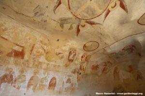 Afrescos nas cavernas, Davit Gareja, Geórgia. Autor e Copyright Marco Ramerini