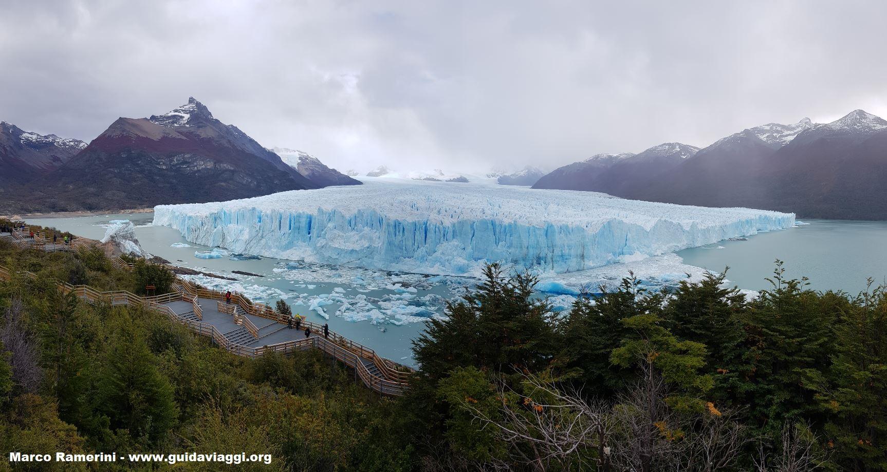 Geleira Perito Moreno, Patagônia, Argentina. Autor e Copyright Marco Ramerini,