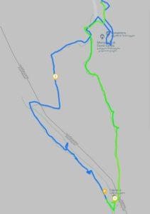 Mapa Davit Gareja