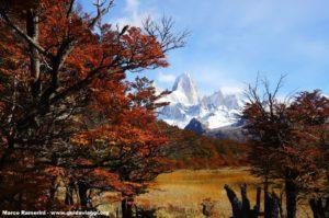 Monte Fitz Roy, Parque Nacional Los Glaciares, Argentina. Autor e Copyright Marco Ramerini