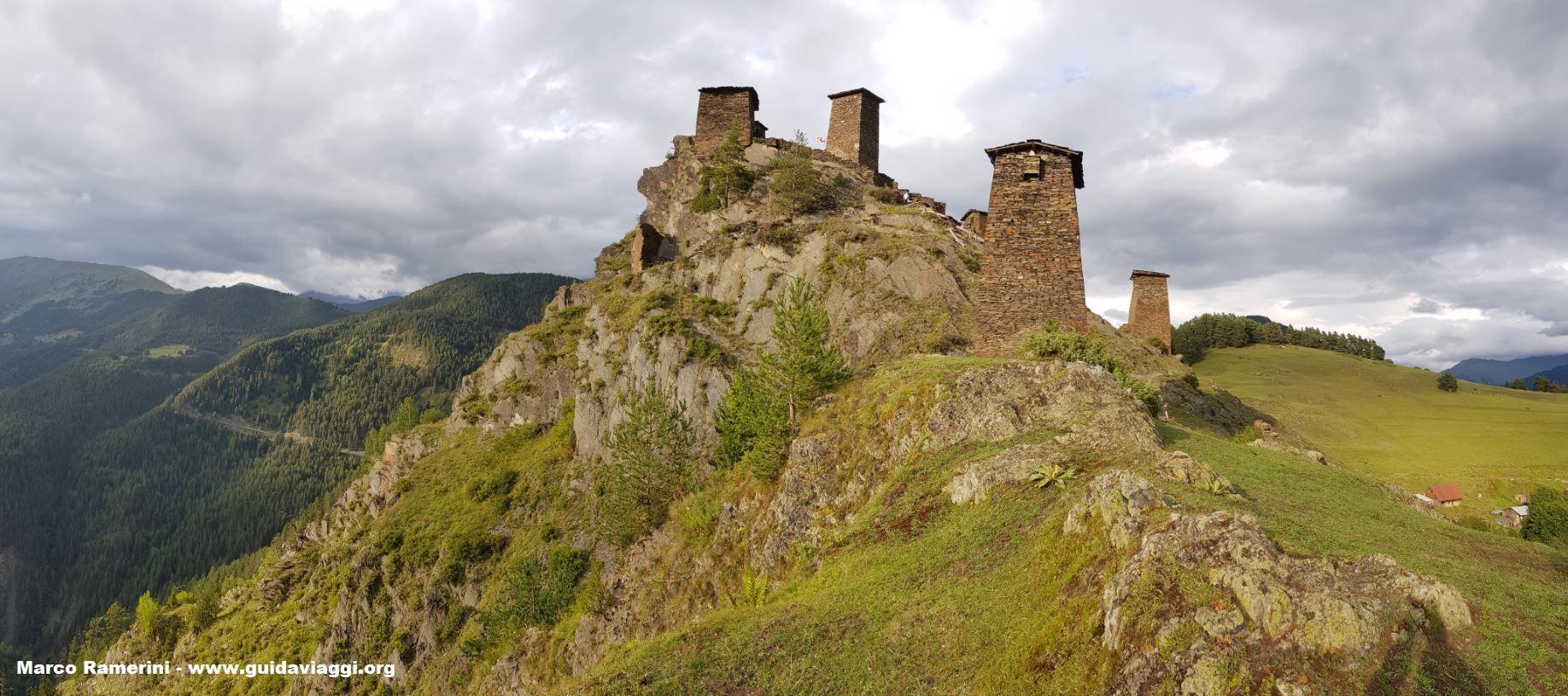 Omalo, Tusheti, Geórgia. Autor e Copyright Marco Ramerini