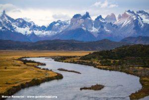 Parque Nacional Torres del Paine, Chile. Autor e Copyright Marco Ramerini..