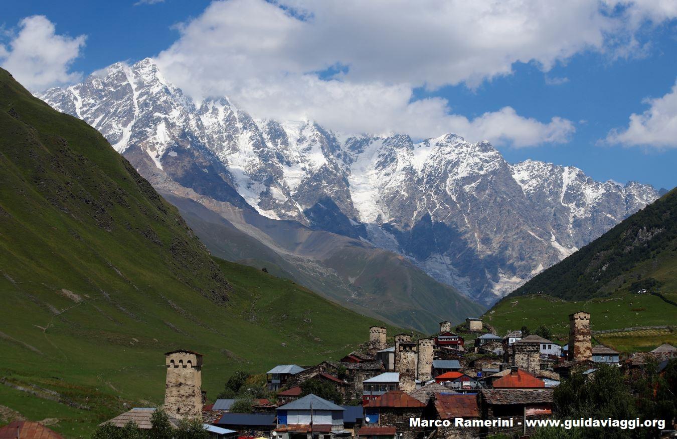 Ushguli, Svaneti, Geórgia. Autor e Copyright Marco Ramerini