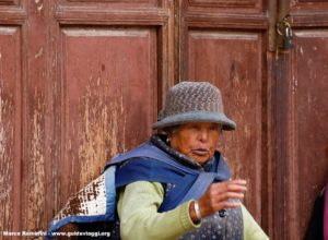 Mulher, Baisha, Yunnan, China. Autor e Copyright Marco Ramerini.