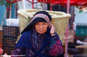Mulher, Shaxi, Yunnan, China. Autor e Copyright Marco Ramerini ...