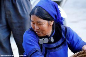 Donna, Shengcun, Yuanyang, Yunnan, China. Autor e Copyright Marco Ramerini ..
