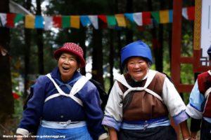 Mulheres, Baisha, Yunnan, China. Autor e Copyright Marco Ramerini.