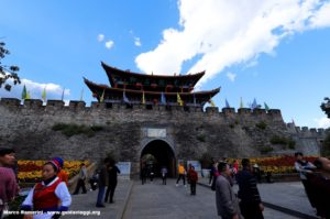 Muralhas de Dali, Yunnan, China. Autor e Copyright Marco Ramerini.