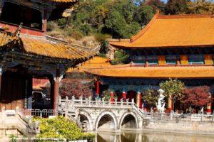 Templo de Yantong, Kunming, Yunnan, China. Autor e Copyright Marco Ramerini.