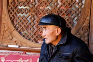 Homem, Shaxi, Yunnan, China. Autor e Copyright Marco Ramerini