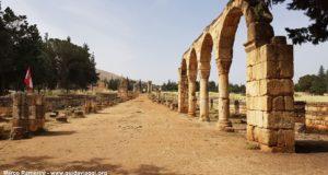 Anjar, Vale do Beca, Líbano. Autor e Copyright Marco Ramerini