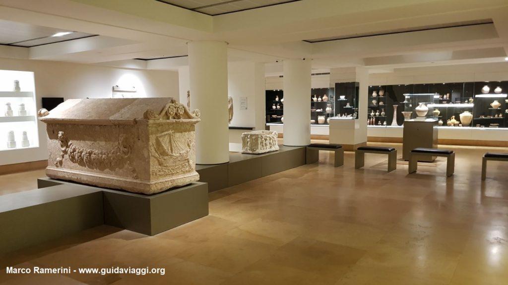 O Museu Nacional de Beirute, Líbano. Autor e Copyright Marco Ramerini