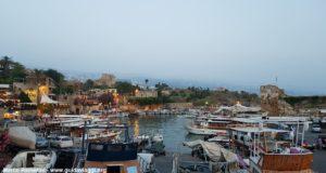 A marina de Biblo, Líbano. Autor e Copyright Marco Ramerini