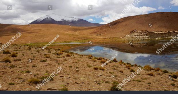 Laguna Turquiri, Bolívia. Autor e Copyright Marco Ramerini