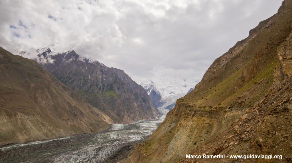 Geleira de Bualtar, Hopar Valley, Paquistão. Autor e Copyright Marco Ramerini