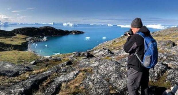 Trilhas para caminhadas ao longo do Icefjord, Ilulissat, Groenlândia. Autor e Copyright Almo