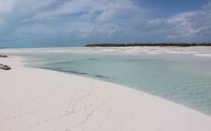Bancos de areia, Sandy Cay, Exumas, Bahamas. Autor e Copyright Marco Ramerini..