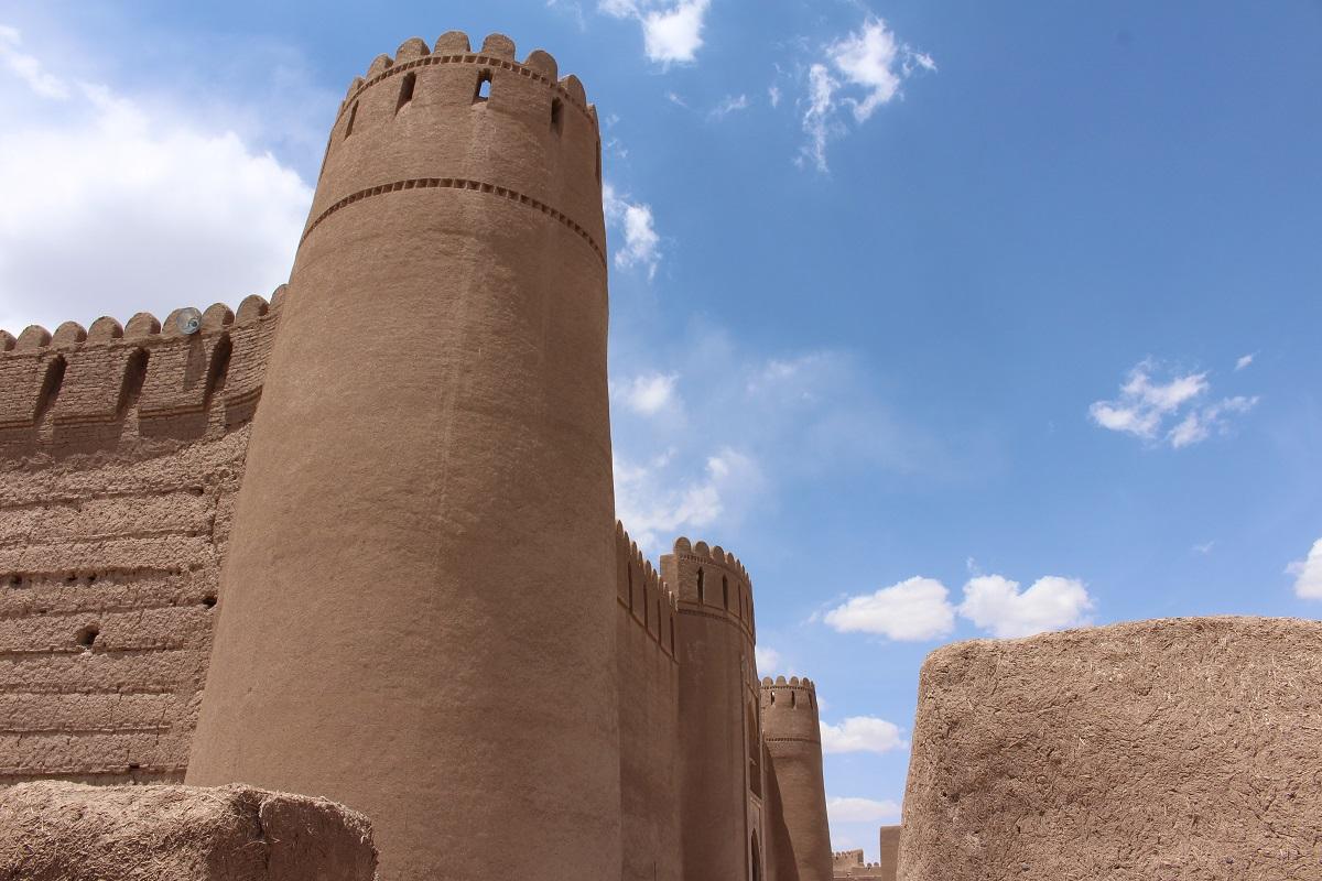 A cidadela de Rayen, Irã. Autor e Copyright Marco Ramerini,