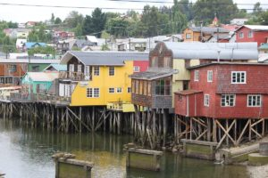 Palafitte Gamboa, Castro, Isla Chiloe, Chile. Autor e Copyright Marco Ramerini